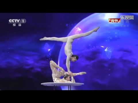 male and female contortion 梦蝶