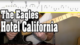 Guitar Lesson: Eagles - Hotel California w/Tabs