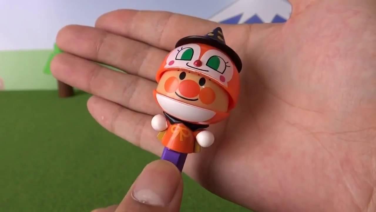 アンパンマンミュージアム限定 アンパンマンハロウィンボールペン anpanman Halloween ball,point pen Youtube.mp4
