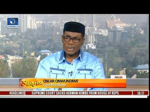 Nigerian Judiciary: Lawyer Decries FG's Handling Of Criminal Prosecution Pt.1