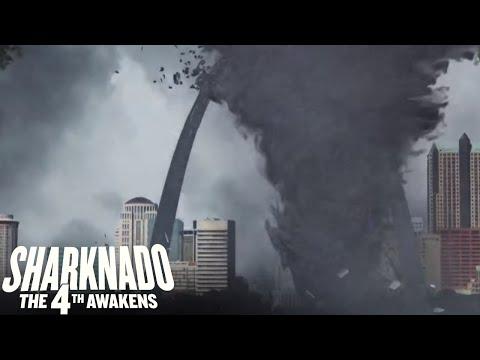 Sharknado the 4th Awakens: In The Heart Of The Storm | SYFY