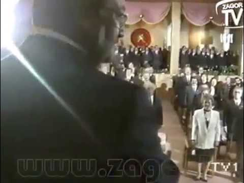 Kenan Evren   Turgut Özal   Cumhurbaşkanlığı Devir Teslim Töreni TV1   1989