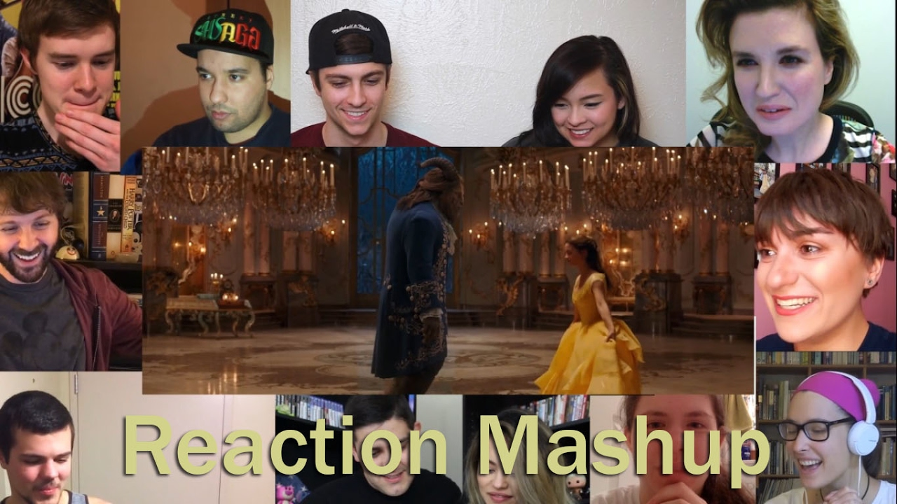 beauty and the beast � us official final trailer reaction