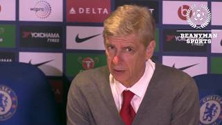 Arsenal 0-0 Chelsea ~ Arsene Wenger Full Post Match Press Conference  ~ Premier League HD