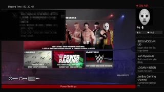 WWE 2k18 Universe mode Power Rankings for the week of 7\8\18
