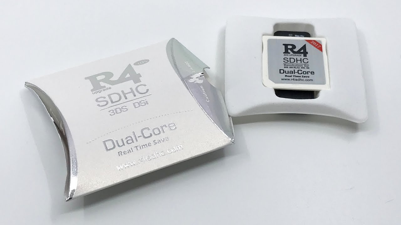 2017 R4I SDHC Dual Core (The White) | Unboxing【4K】