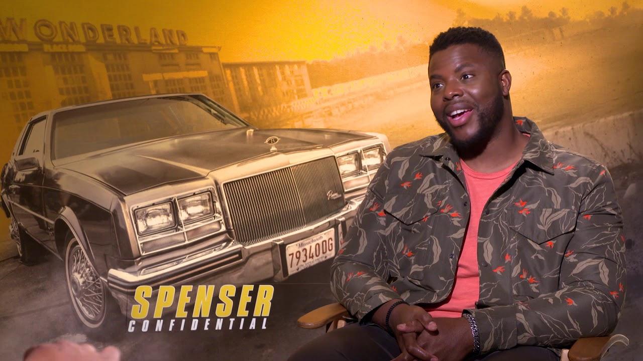 Winston Duke Interview Spenser Confidential Youtube