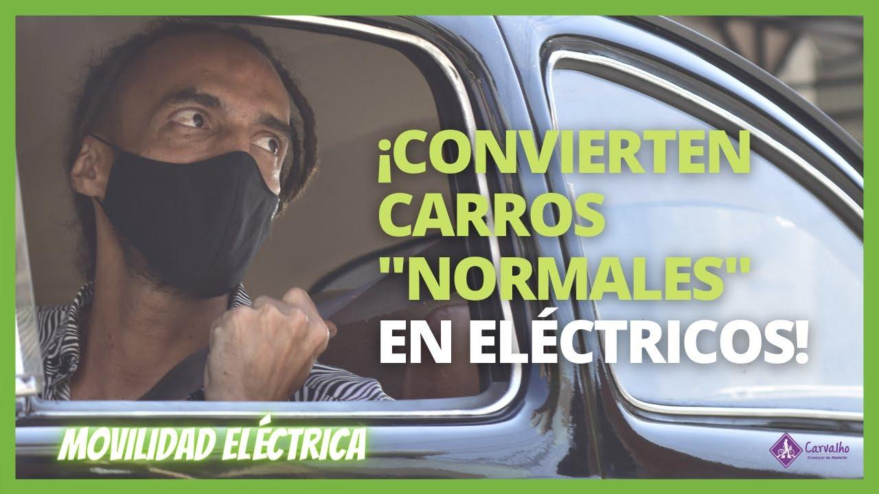 En Medellín convierten autos normales en CARROS ELÉCTRICOS 🚗🔌