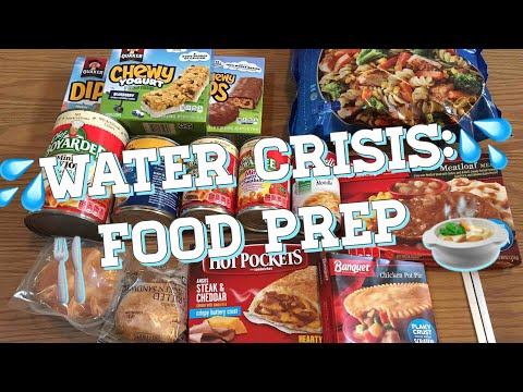 Water Crisis : Food Prep : with and without electricity