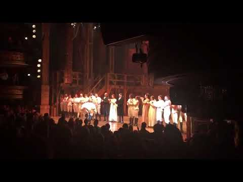 Christopher Jackson's last Hamilton curtain callperformance, 11132016
