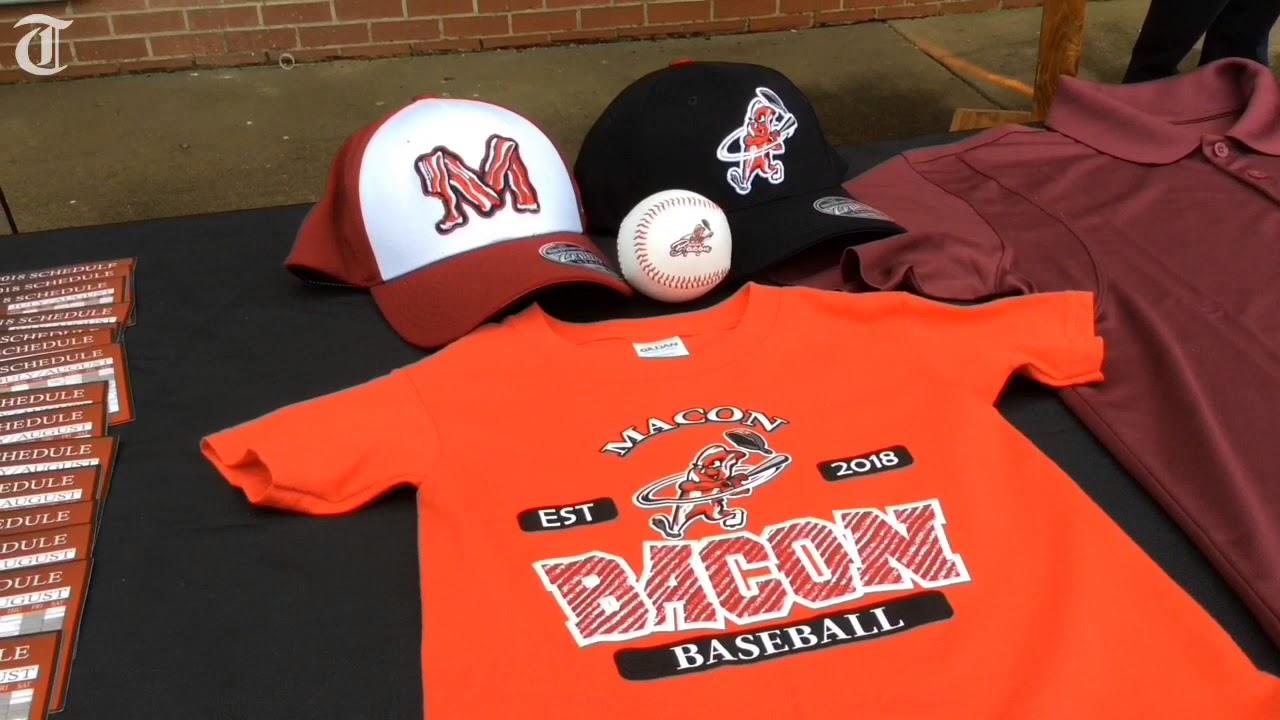 5c9b2e8e7343e New Macon Baseball Walk of Fame for Luther Williams Field - YouTube