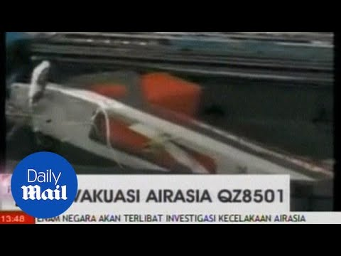 First Pictures Of The Recovered Black Box From Air Asia Flight - Daily Mail