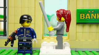 Lego Bank robbery - A mysterious story