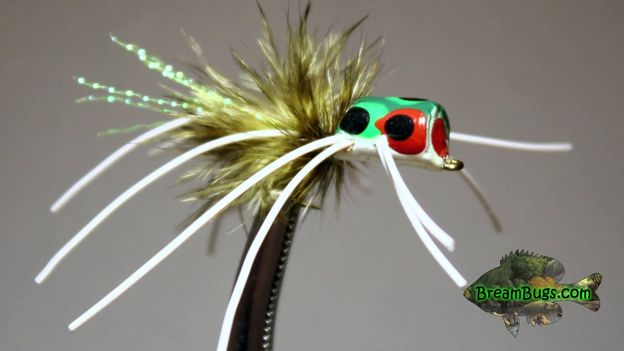 Fly fishing gear bass and bluegill for Fly fishing poppers