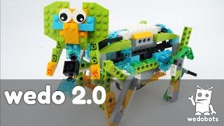 wedobots:  Elephant with LEGO® WeDo™ bricks with WeDo 2.0