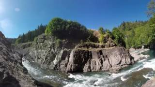 #360elwha  #360video:  Visit Former Lake Aldwell, Lower Dam removal site and Mouth of Elwha