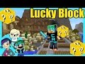 Lucky Blocks Survival Games with Cybernova and Radiojh Audrey - Minecraft