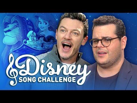 Disney  Challenge with Josh Gad and Luke Evans