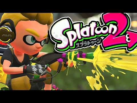 I'm still a SQUID! │ Splatoon 2 Nintendo Switch Preview │ ProJared Plays!