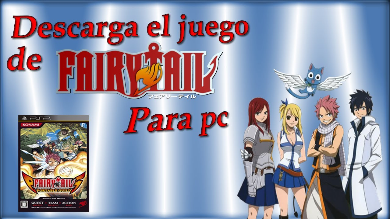 Descarga el juego de fairy tail para pc youtube - Embleme de fairy tail ...