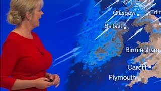 Carol Kirkwood huge boobs and Joanna Gosling Leather