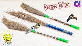 Best out of waste Broom craft idea   diy art and craft   Artkala 413