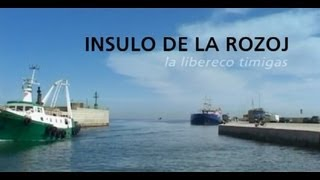 INSULO DE LA ROZOJ  - plena filmo en Esperanto