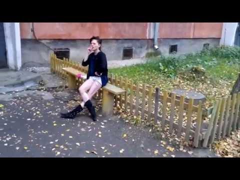 Девушка наркоманка под спайсами или солью  ПОЛНАЯ ВЕРСИЯ !