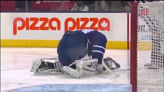 NHL: Goalies Getting Hit Part 2