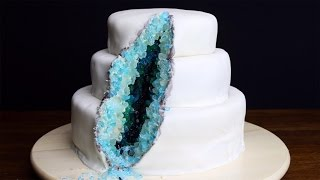 How To Decorate A Geode Cake thumbnail