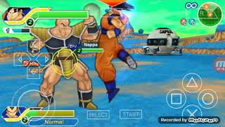 PPSSPP:(DRAGON BALL Z TAGS TEAM)