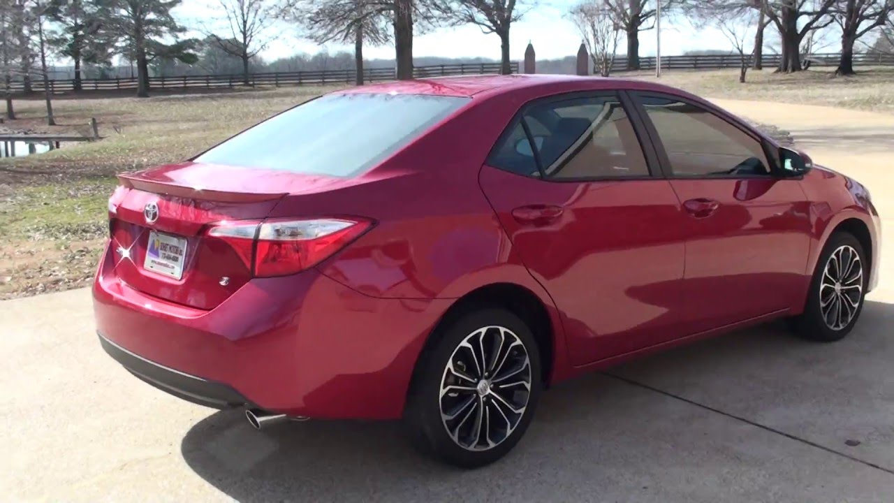 Hd Video 2015 Toyota Corolla S Plus Used For Sale Info See