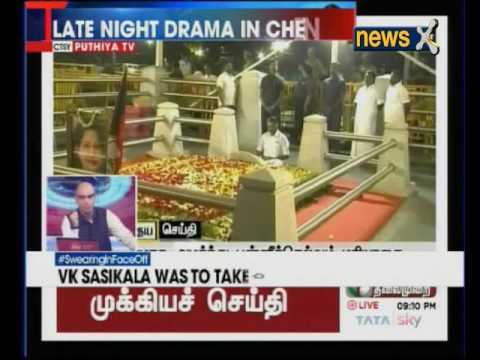 Nation At 9: OPS breaks silence at Jaya's memorial. Tamil Nadu left in limbo?