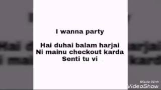 Party Nonstop Lyrics Ft Jasmine Sandlas