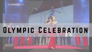 [Olympics 2018] Jasmine Choi Plays Arirang for PyeongChang 2018 Austrian Farewell Party 평창올림픽 최나경