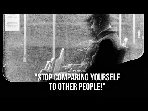 Never compare yourself to anyone BEST Motivational Video (Jordan Peterson & David Goggins)