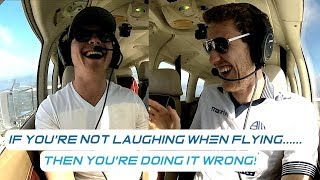Flying With My Best Friend Is Always Hilarious| PA28