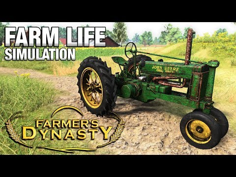 FARM LIFE SIMULATION | Farmer's Dynasty FIRST LOOK (Beta)