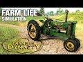FARM LIFE SIMULATION | Farmer's Dynasty FIRST LOOK (Beta)