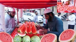 YOU NEVER SEEN BEFORE This Type Of WaterMelon Cutting | البطيخ | Journey For Food /A3