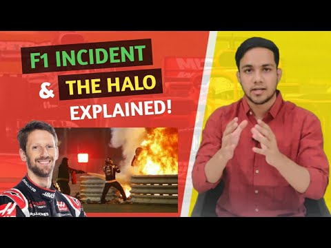 Download F1 Romain Grosjean Incident & The Halo | Explained by Shashank | In English