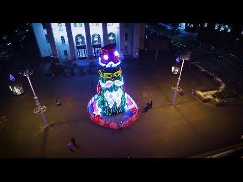 Как в Минске появилась необычная елка
