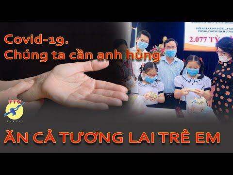 🎯 Vaccin, ngửa tay xin, xin cả tương lai trẻ em