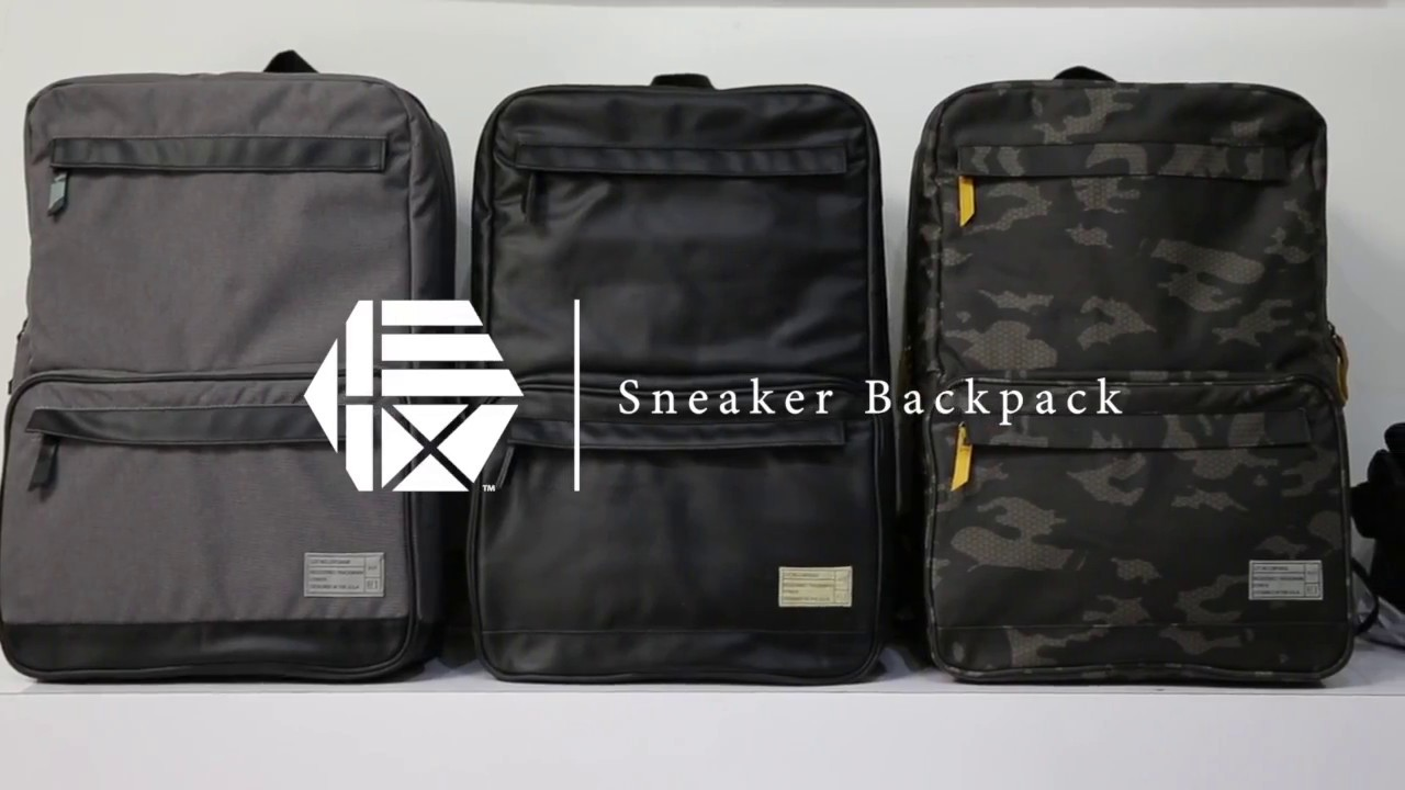 846cdd43c4 HEX Sneaker Backpack and Duffel