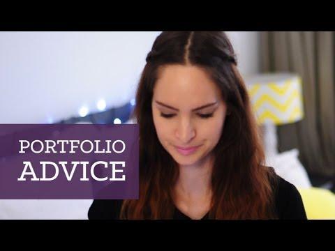 Design portfolio advice   CharliMarieTV
