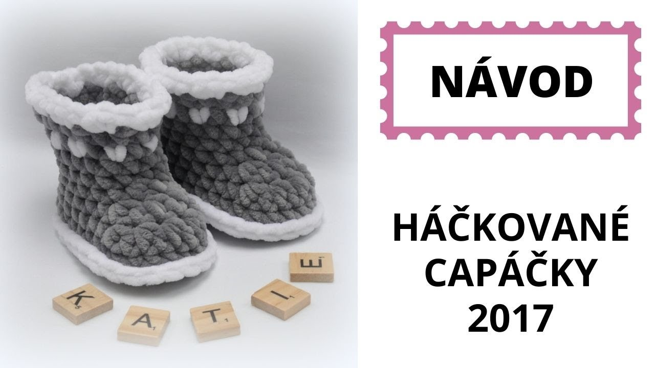 36fdaf0693dd Capáčky Dolphin Crochet baby shoes Dolphin - YouTube