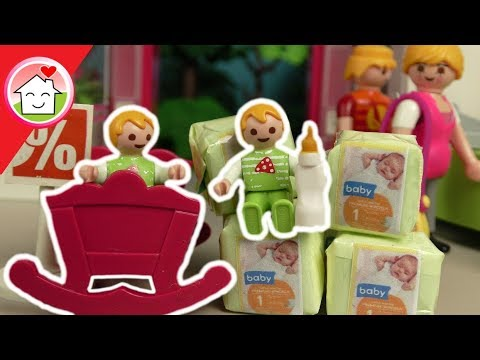playmobil film deutsch babysachen kaufen shoppinggeschichte f r kinder von familie hauser. Black Bedroom Furniture Sets. Home Design Ideas