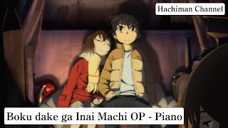Boku dake ga Inai Machi (ERASED) Abertura Piano + Download