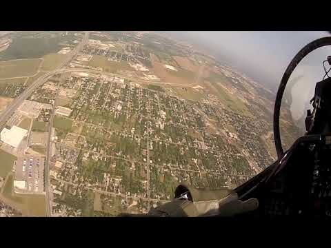 360 View Fighter Jet Cocpit