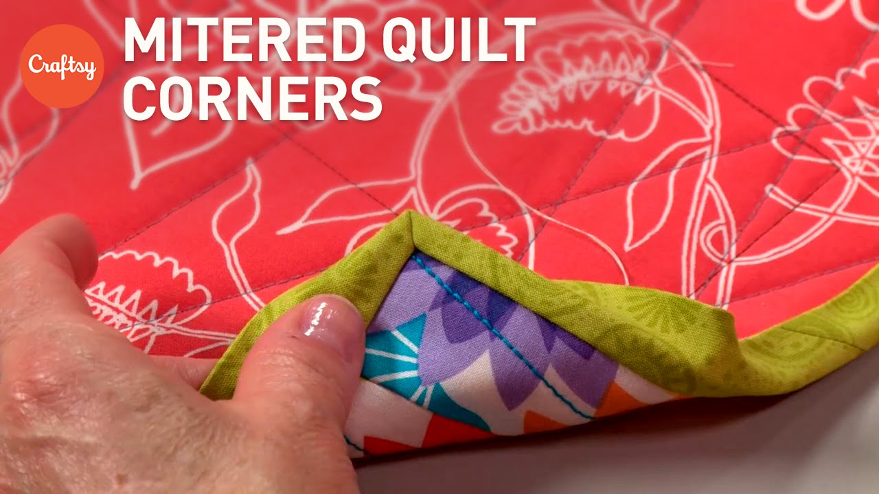 How to make a quilt binding video